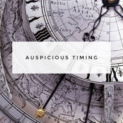 auspicious timing astrology