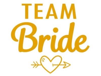 Tatoveering Team Bride 5*5cm