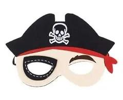 Vildist mask piraat