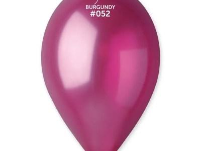 Kummist õhupall metalli läikega lilla (52)
