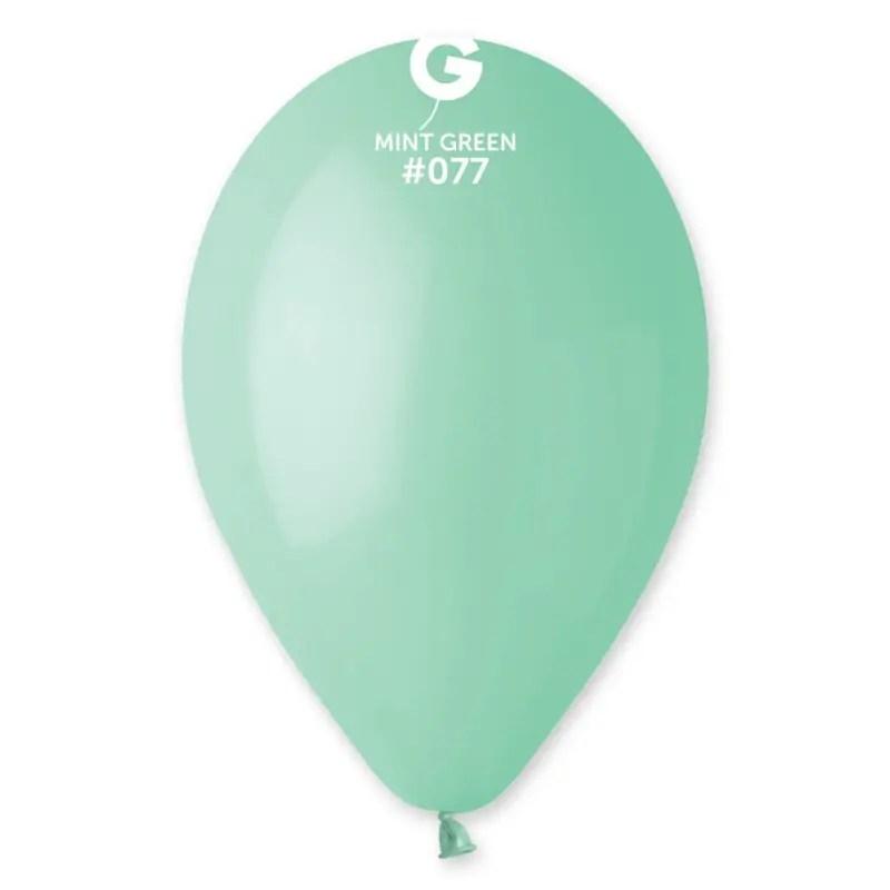 Kummist õhupall mündiroheline (77)