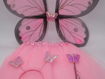 Tuledega laste liblikakostüüm