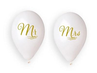 """Õhupallid Mr&Mrs 4tk, 13"""""""