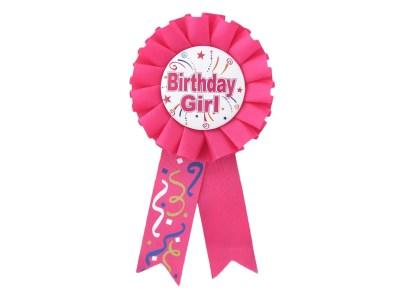Rinnamärk Birthday Girl