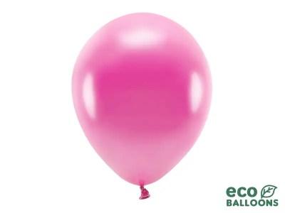 Kummist õhupall roosa metallik 1tk, 30cm, 080