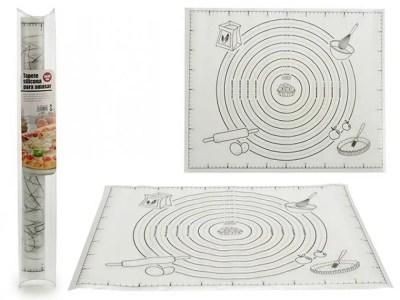 Silikoonist taigna rullimise matt 51 x 42 x 0.1 cm mittenakkuv