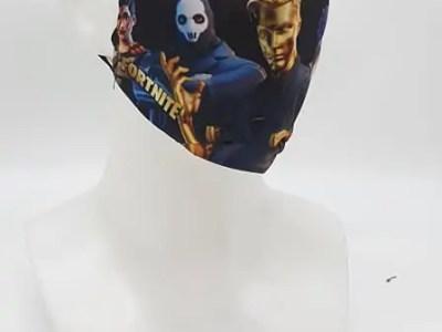 Riidest korduvkasutatav mask