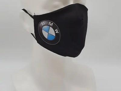 Korduvkasutatavad riidest mask BMW