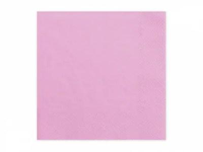 Salvrätikud roosa 20tk, 33*33cm