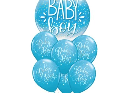 Baby Boy õhupallide komplekt (7 tk)