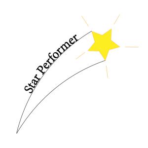 Star Performer Logo TM, Copyright 2018 by Steve J Davis All Rights Reserved