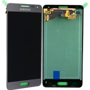 Samsung Galaxy Alpha Silver LCD Screen
