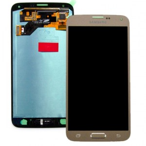 Samsung Galaxy S5 Neo Gold LCD Screen
