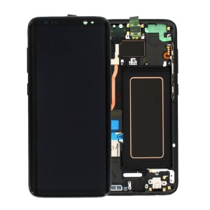 SAMSUNG GALAXY S8 LCD DISPLAY ASSEMBLY MIDNIGHT BLACK