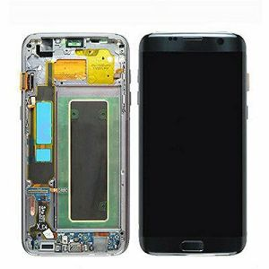 Genuine Samsung Galaxy S7 Edge LCD Screen Complete With Frame Assembly Unit Black