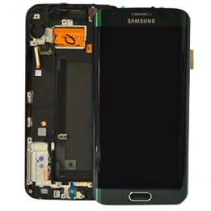 Samsung Galaxy S6 EDGE Green LCD Screen