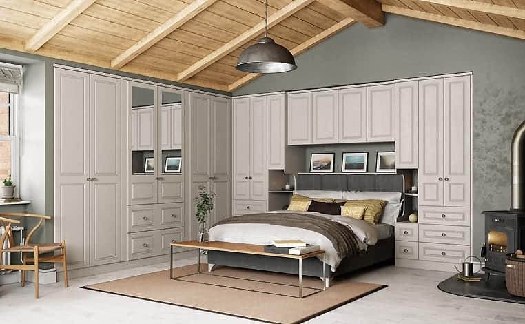 Cashmere Grain Davenport Design Fitted Bedroom