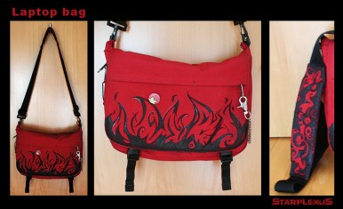 the first bag i ever custom designed. i used this one in uni.