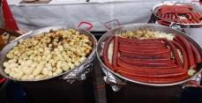 potatoes & sausages
