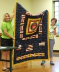 Ann Weaver - Patriotic quilt