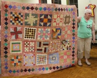 Donna Watts - Scrap block charity quilt