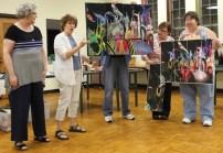 Ann Weaver describing our group creation.