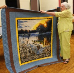 Ginny Vaden - Fisherman's quilt.