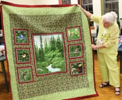 Ginny Vaden - Bird Lover's quilt.