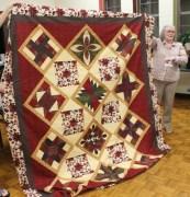 Gisela O'Connor - Imperial Splendor quilt.