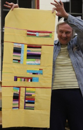 Carol Sheldon - Modern Art Quilt