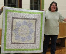 Victoria Person - Baby quilt