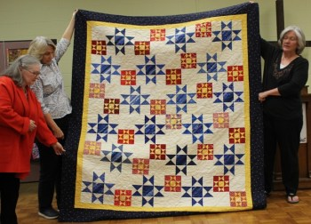 Terry Doyle - Tribute to the Military quilt.