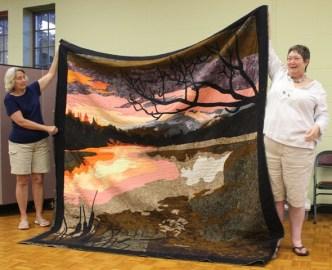 Susan Kraterfield - Bear Lake quilt