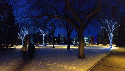 Good job UAlberta. Those are some elegant lights