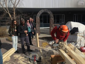 Lumber workshop happened several times during the weekend
