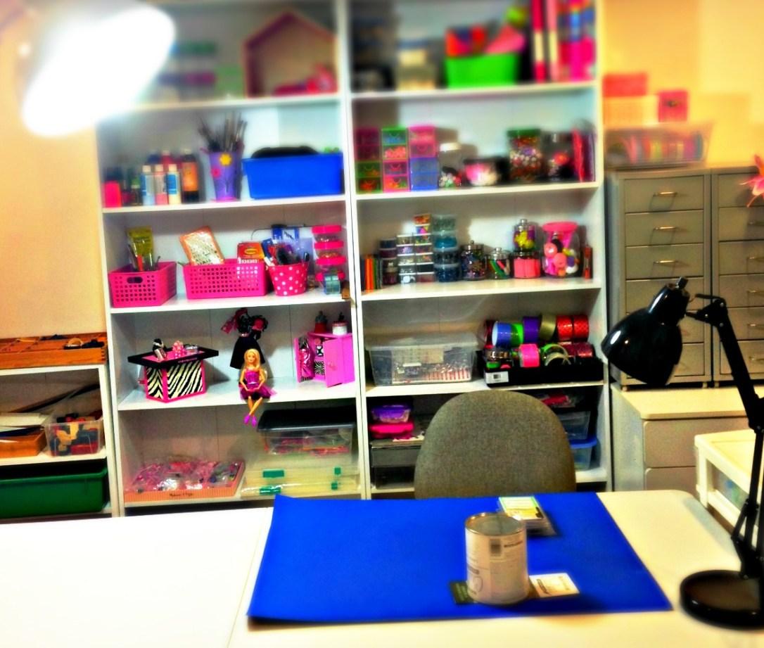 multi purpose craft room