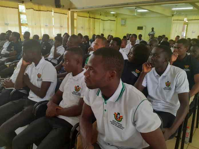 National Service Personnel launch 10th anniversary in Ho 1