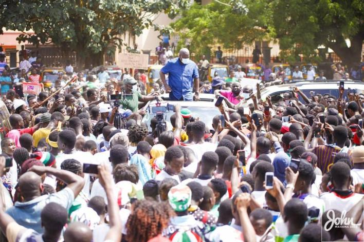 We'll name our promised stadium after you – Berekum Queen mother to Mahama 3