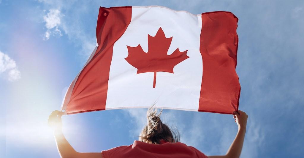 canada flag immigration