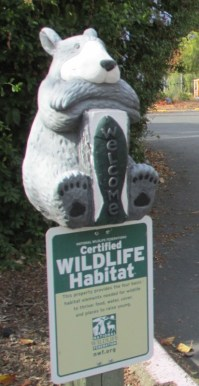 Our grounds are a certified wildlife habitat.