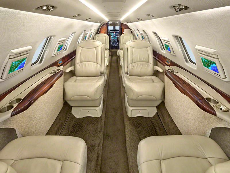 Cessna Citation Sovereign Private Jet Hire