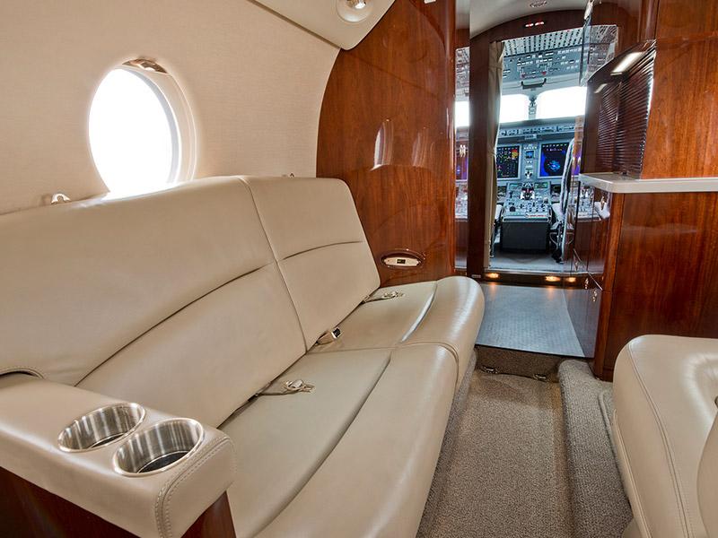 Gulfstream G100 G150 Private Jet Hire
