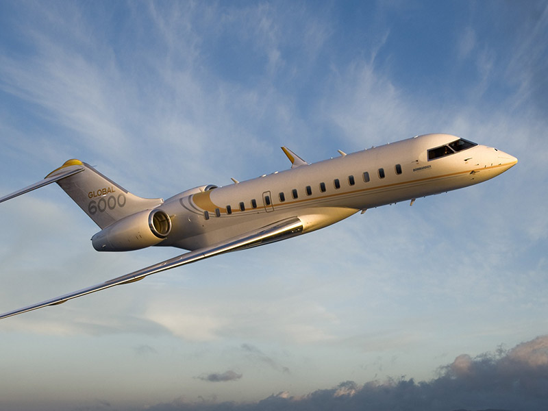 Bombardier Global 6000 Private Jet Hire