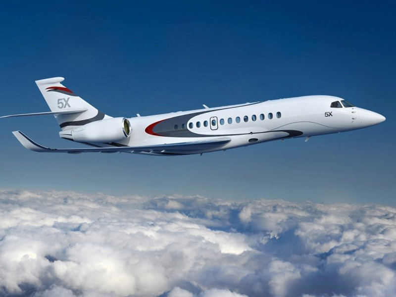 Dassault Falcon 5X Private Jet Hire