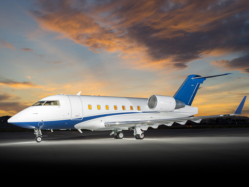 Bombardier Challenger 604 Private Jet Hire