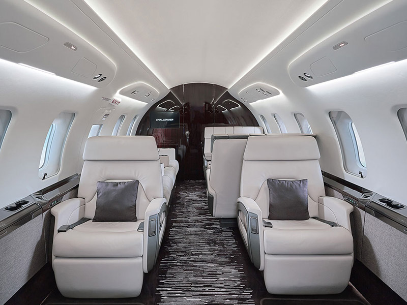 Bombardier Challenger 650 Private Jet Hire