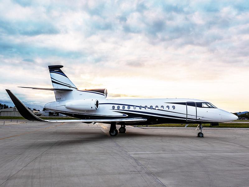Dassault Falcon 900 / 900ex Private Jet Hire