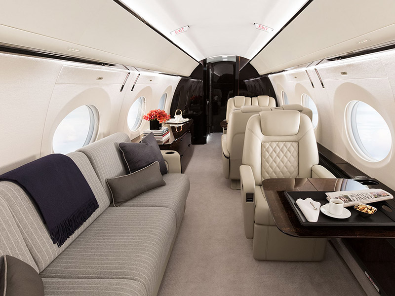 Gulfstream G500 Private Jet Hire