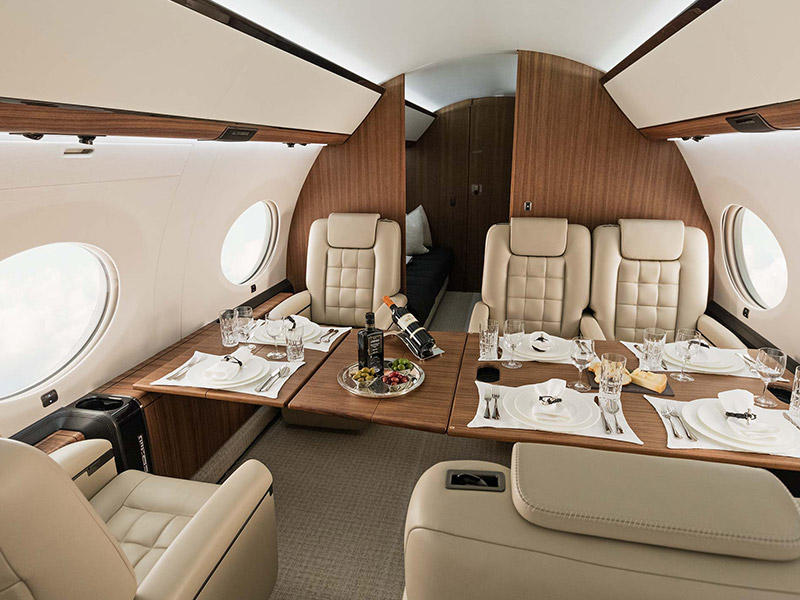 Gulfstream G650 Private Jet Hire
