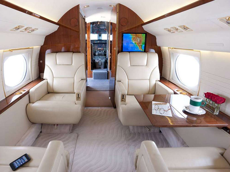 Gulfstream GIII Private Jet Hire